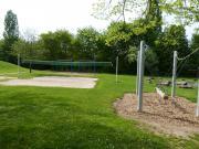Das Volleyballfeld