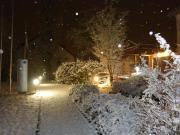 … ist Eile geboten, der Schnee bleibt meist nur Stunden liegen!