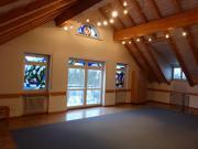 Unser Meditationsraum im Dachgeschoss …