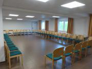 Der Saal 2 im UG, Platz für 60 Personen …